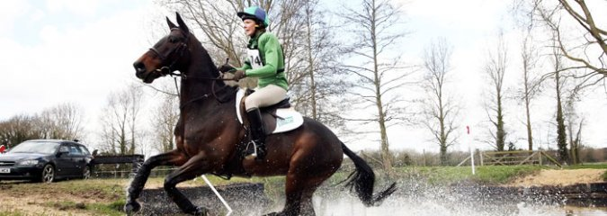 Eventing - Jane out of water