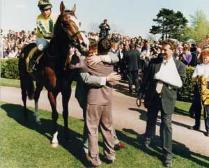 The hug that said it all after the 2000 Guineas