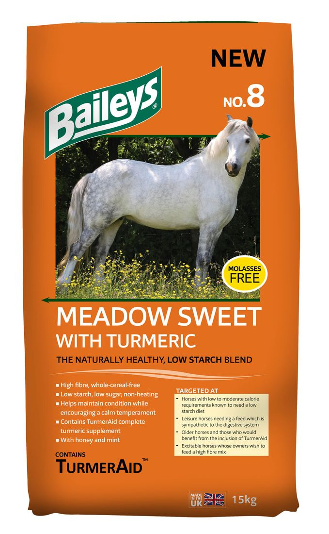 No.8 Meadow Sweet with Turmeric